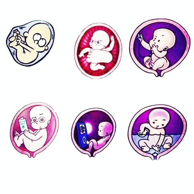 Прикольные и смешные картинки про беременных до слез - сборка 5