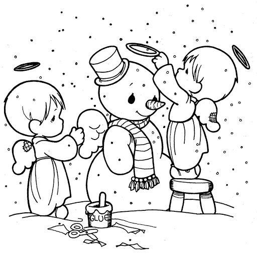 Самые красивые и прикольные новогодние рисунки для срисовки 18
