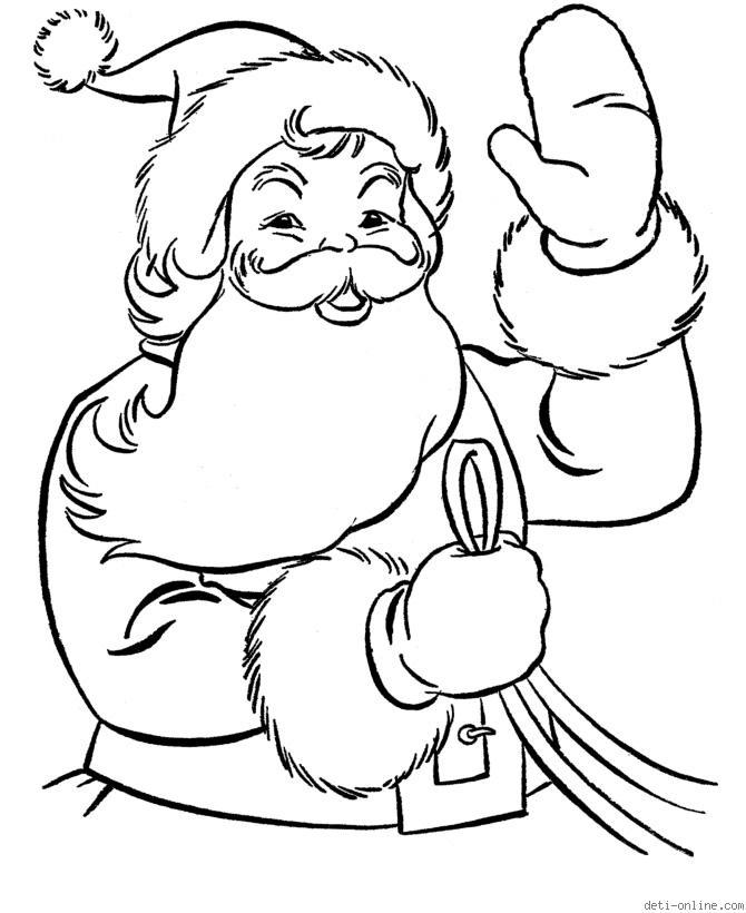Самые красивые и прикольные новогодние рисунки для срисовки 9