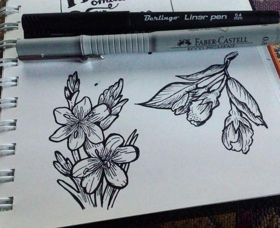 Самые красивые картинки для срисовки в скетчбук - подборка 16