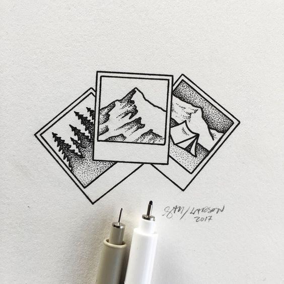 Самые красивые картинки для срисовки в скетчбук - подборка 2