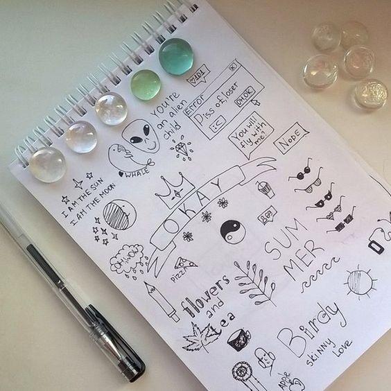 Самые красивые картинки для срисовки в скетчбук - подборка 23