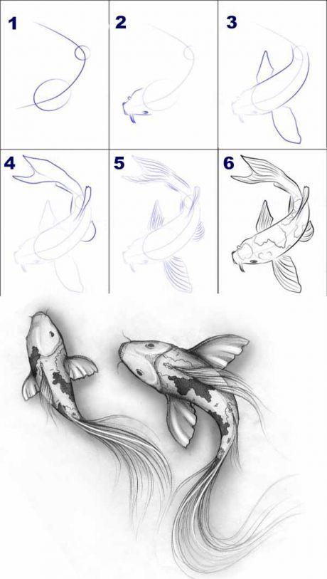 Самые красивые картинки для срисовки в скетчбук - подборка 5