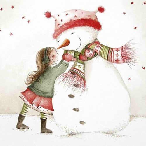 Самые красивые рисунки на Новый год и зиму - подборка 10