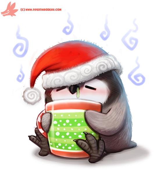 Самые красивые рисунки на Новый год и зиму - подборка 11