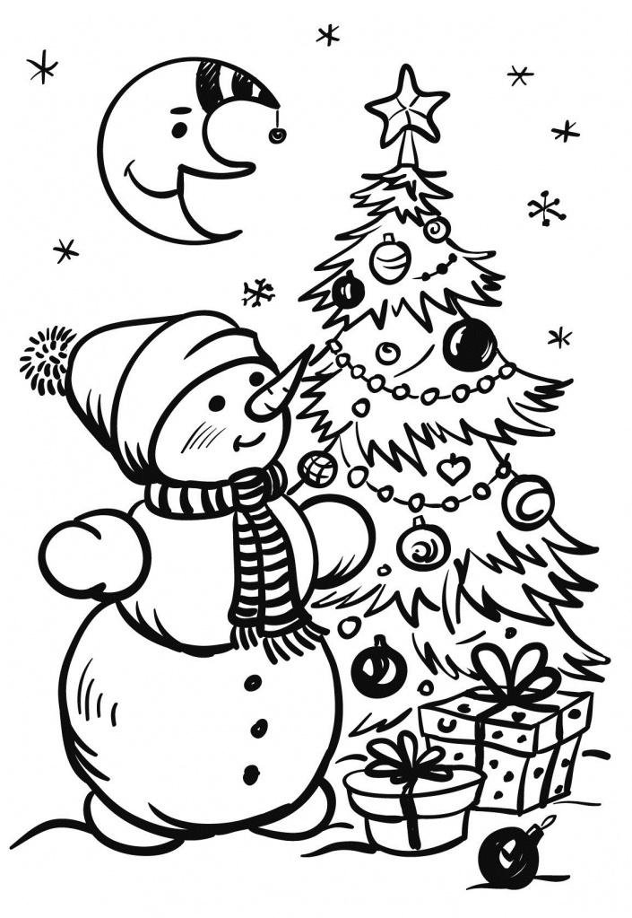 Самые красивые рисунки на Новый год и зиму - подборка 12