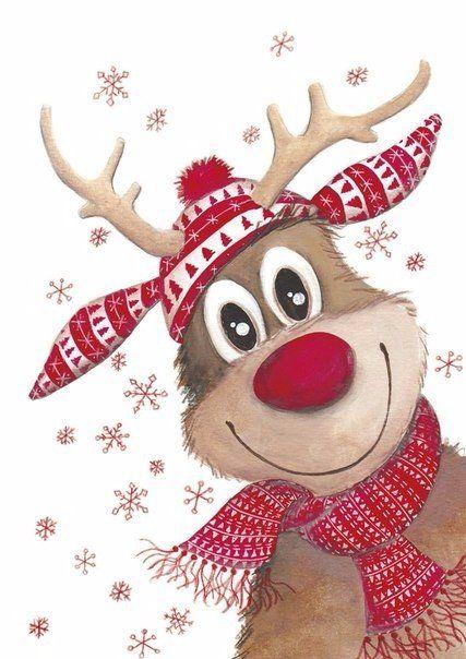 Самые красивые рисунки на Новый год и зиму - подборка 2