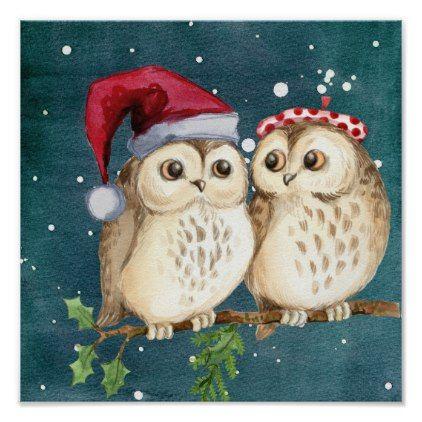 Самые красивые рисунки на Новый год и зиму - подборка 25