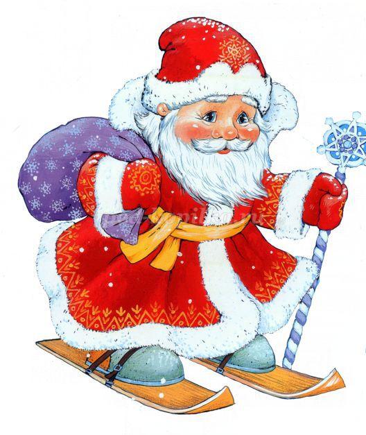 Самые красивые рисунки на Новый год и зиму - подборка 4
