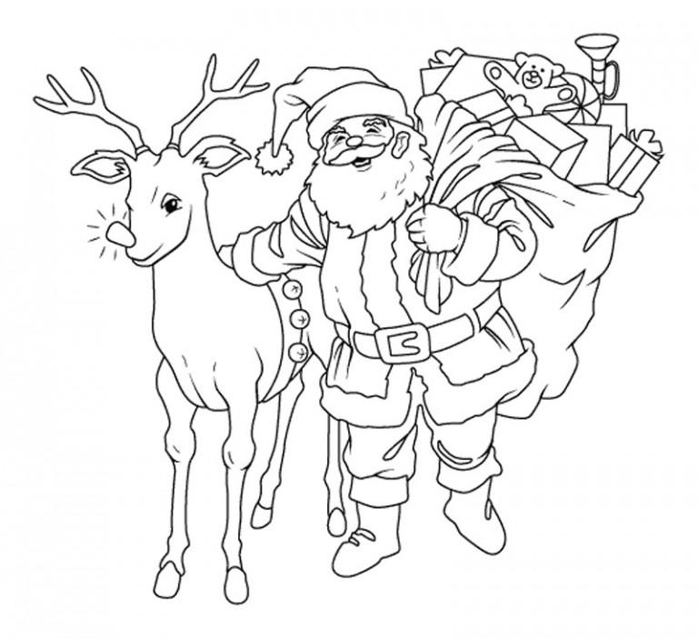 Самые красивые рисунки на Новый год и зиму - подборка 5