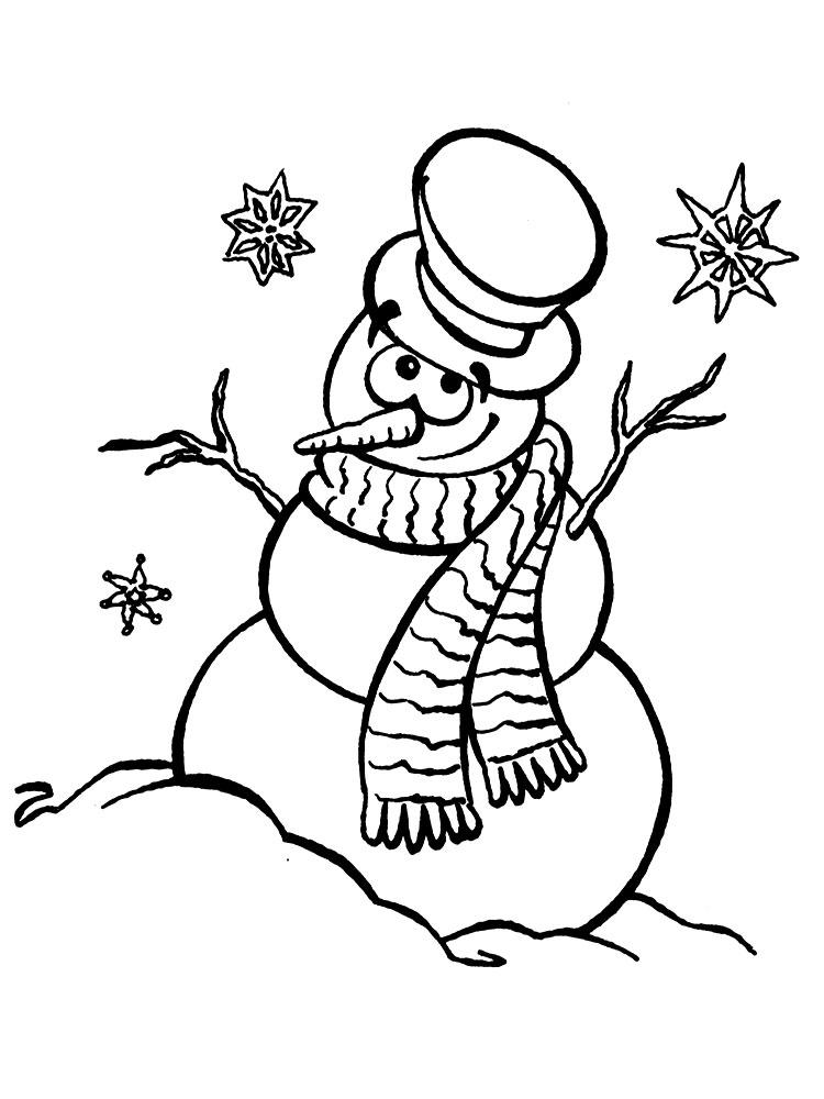 Самые красивые рисунки на Новый год и зиму - подборка 8