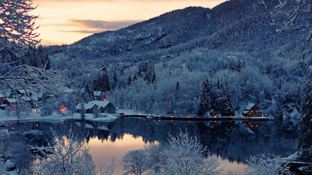 Самые удивительные и красивые фото, картинки Норвегии - сборка 15