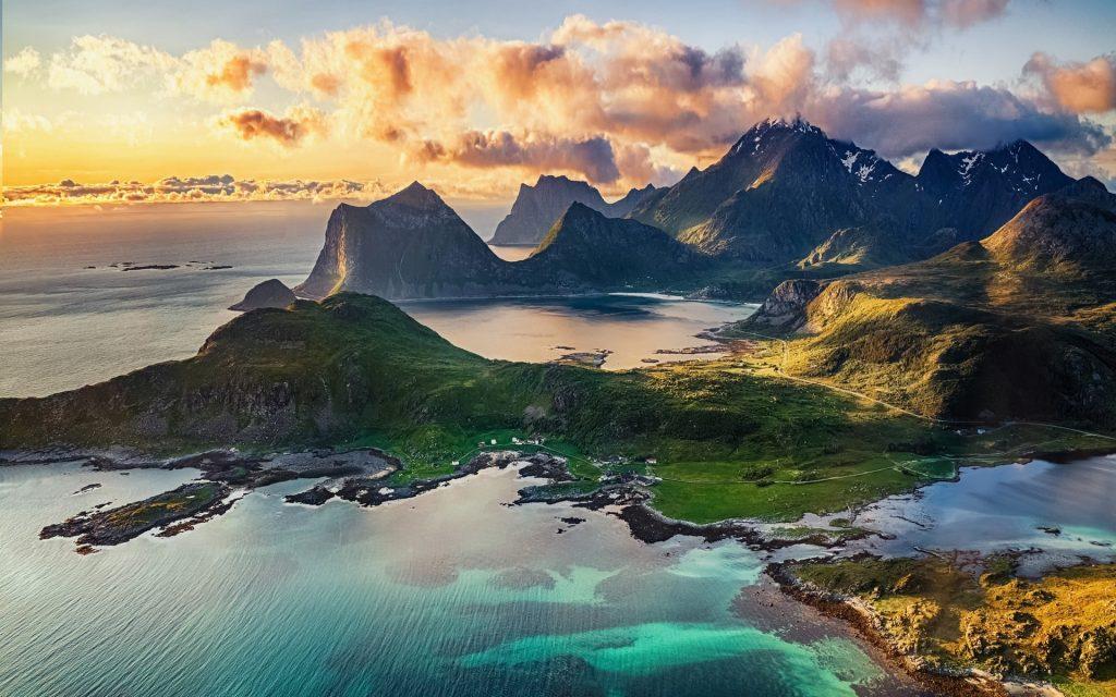 Самые удивительные и красивые фото, картинки Норвегии - сборка 16