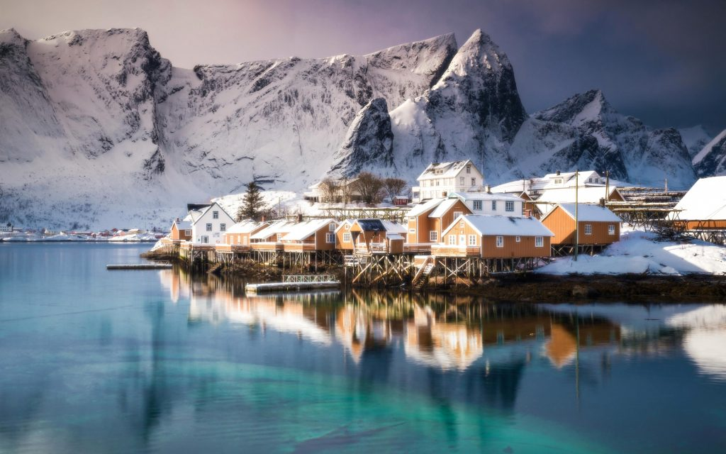 Самые удивительные и красивые фото, картинки Норвегии - сборка 2