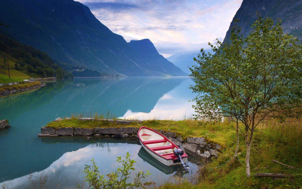 Самые удивительные и красивые фото, картинки Норвегии - сборка 6