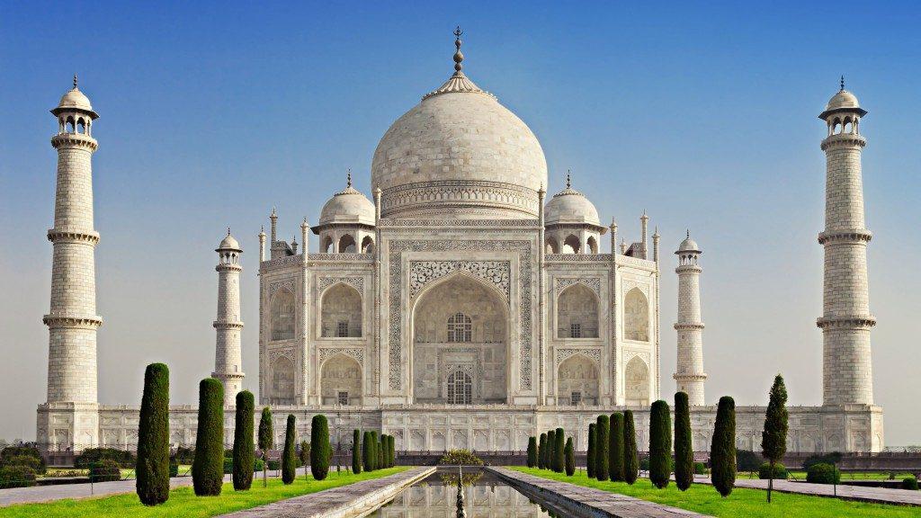 Удивительные и красивые картинки, обои Тадж Махал - подборка 15
