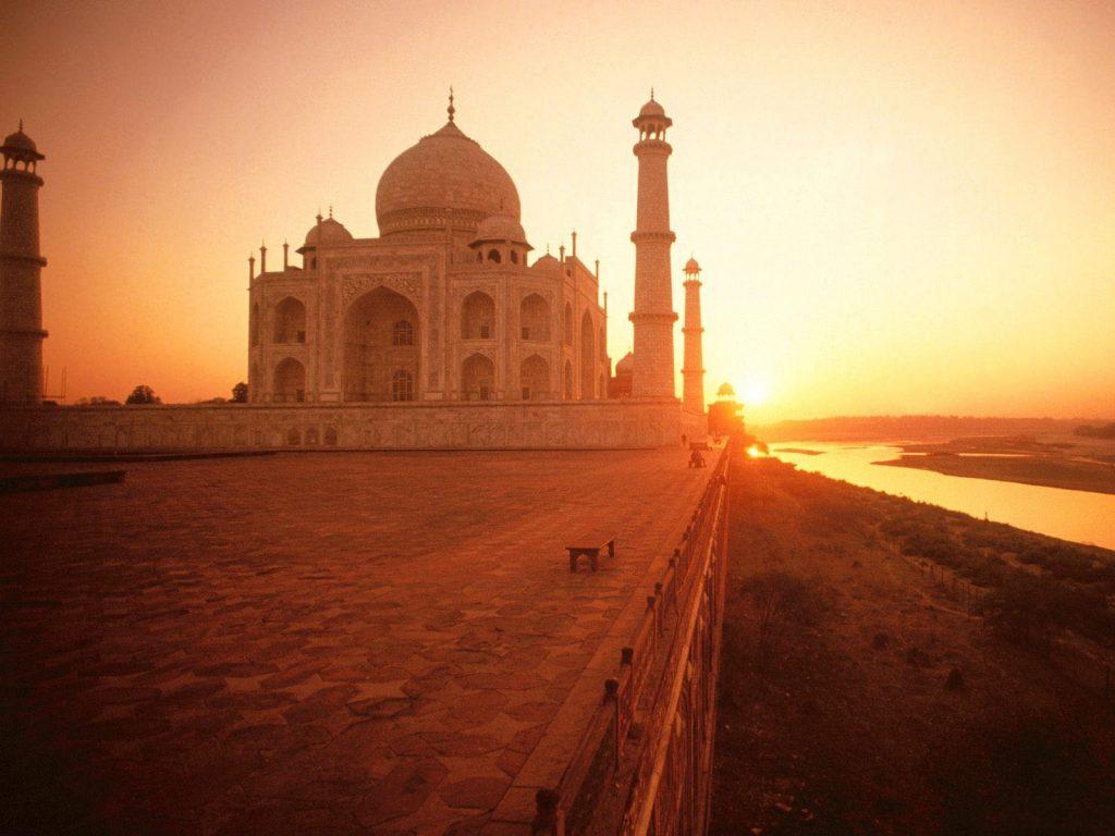 Удивительные и красивые картинки, обои Тадж Махал - подборка 2