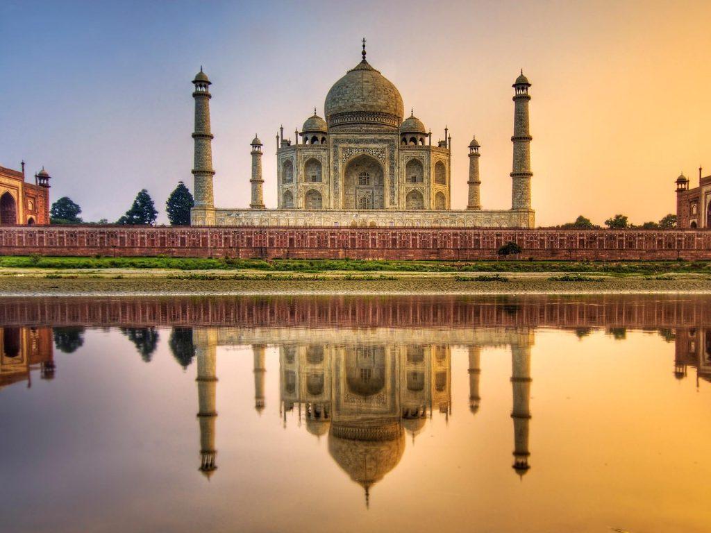 Удивительные и красивые картинки, обои Тадж Махал - подборка 4