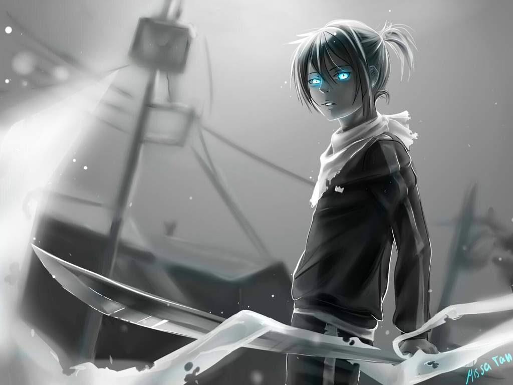 Бездомный Бог Ято - красивые картинки и арты из аниме 20