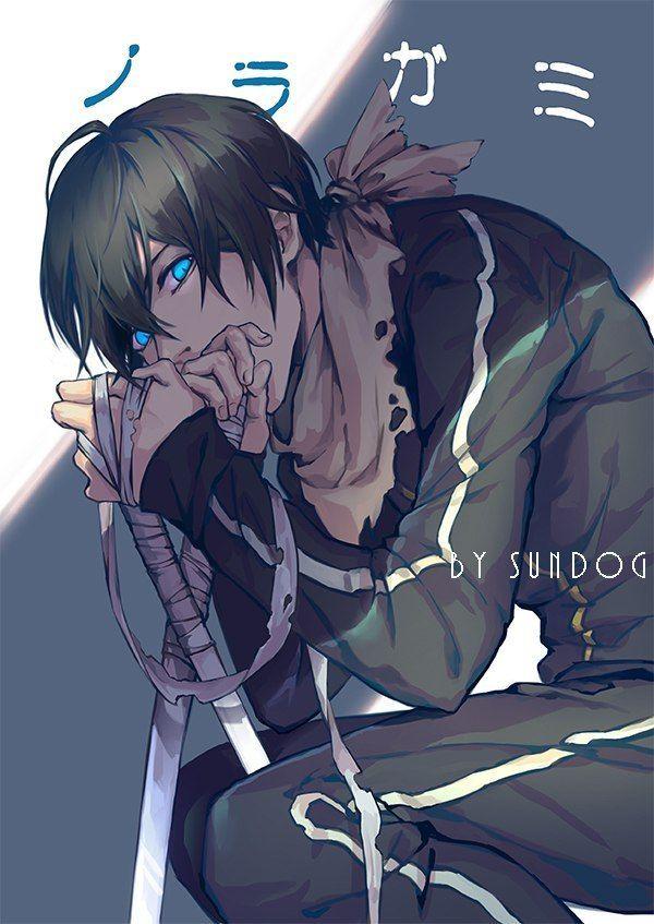 Бездомный Бог Ято - красивые картинки и арты из аниме 9