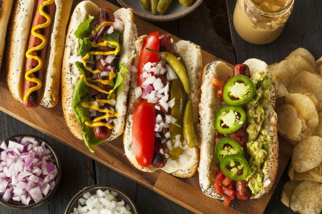 Вкусные и аппетитные фотографии Хот-Дога - подборка 20 картинок 12