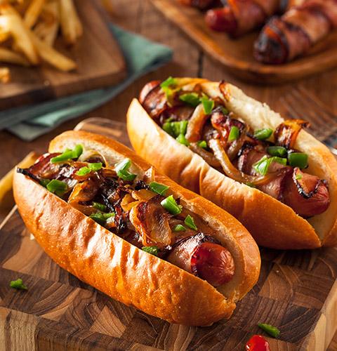 Вкусные и аппетитные фотографии Хот-Дога - подборка 20 картинок 15