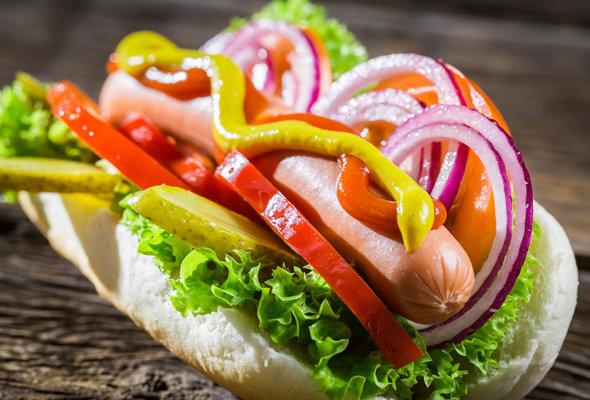 Вкусные и аппетитные фотографии Хот-Дога - подборка 20 картинок 2