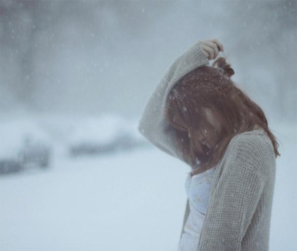 Зимние фотки на аватарку для девушек и девочек - коллекция 11