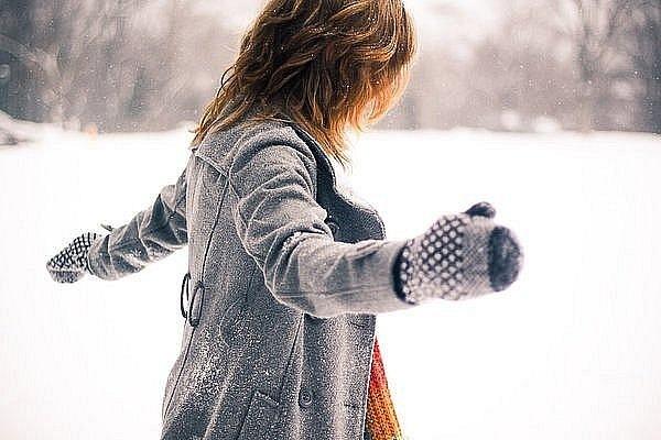 Зимние фотки на аватарку для девушек и девочек - коллекция 14