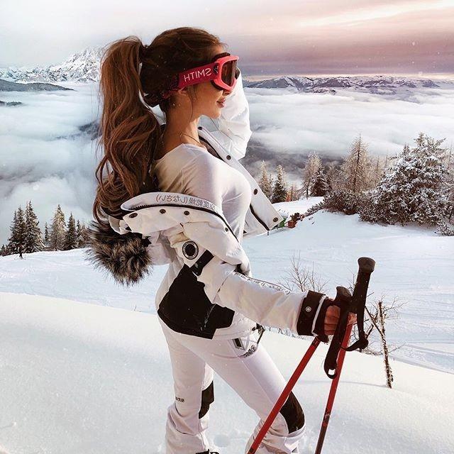Зимние фотки на аватарку для девушек и девочек - коллекция 2