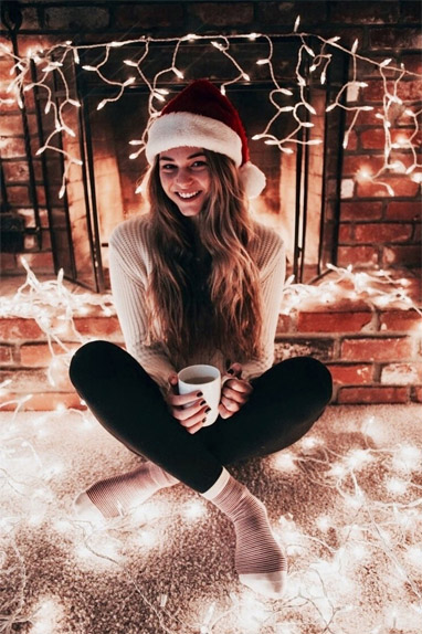 Зимние фотки на аватарку для девушек и девочек - коллекция 20
