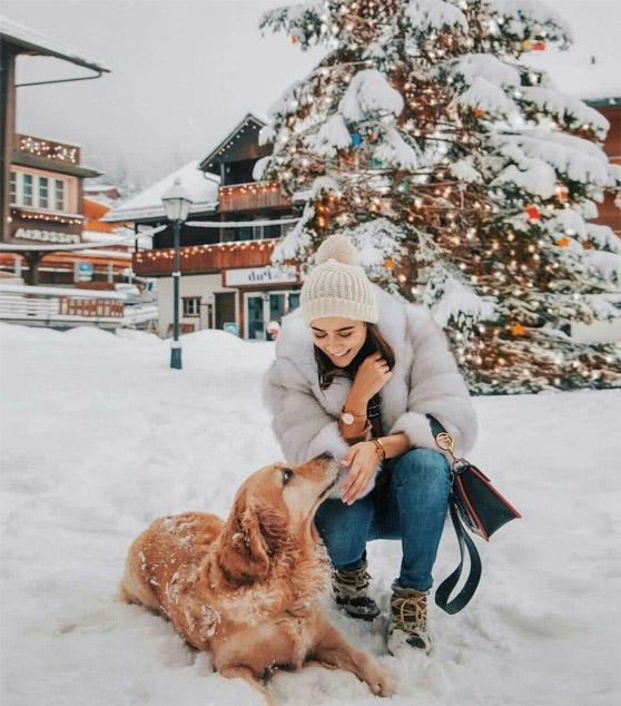 Зимние фотки на аватарку для девушек и девочек - коллекция 5