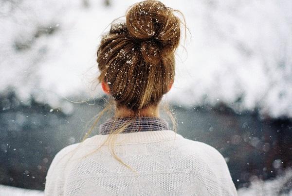 Зимние фотки на аватарку для девушек и девочек - коллекция 6