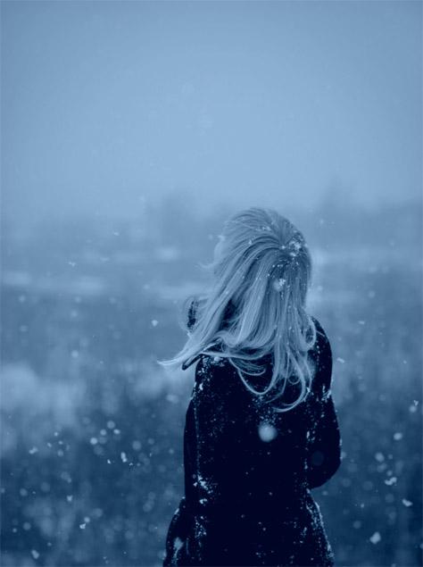 Зимние фотки на аватарку для девушек и девочек - коллекция 7
