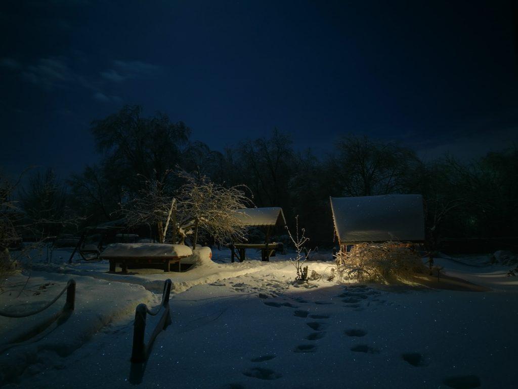 Зимняя ночь картинки красивые и удивительные - подборка 20 фото 1