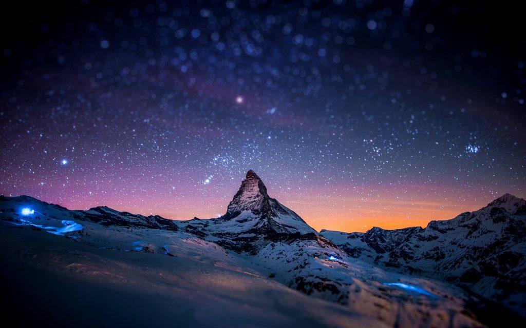 Зимняя ночь картинки красивые и удивительные - подборка 20 фото 9