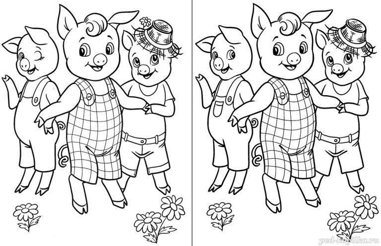 Картинки «Найди отличия» для детей и взрослых - подборка 17 фото 13