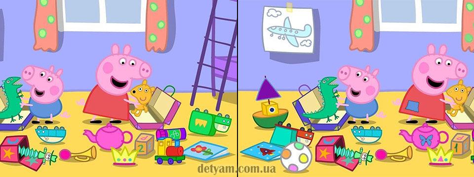 Картинки «Найди отличия» для детей и взрослых - подборка 17 фото 16