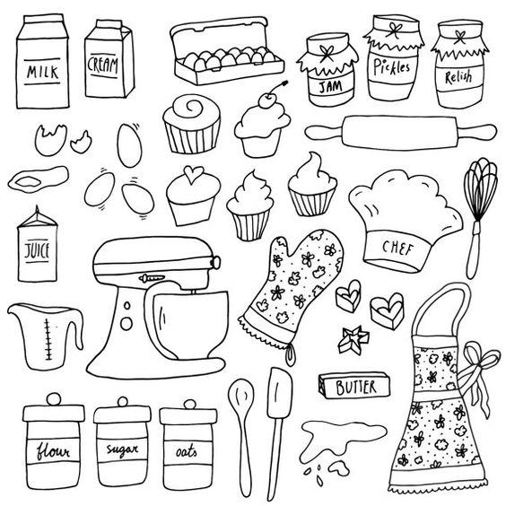 Картинки и рисунки для срисовки в ЛД для девочек - подборка 5