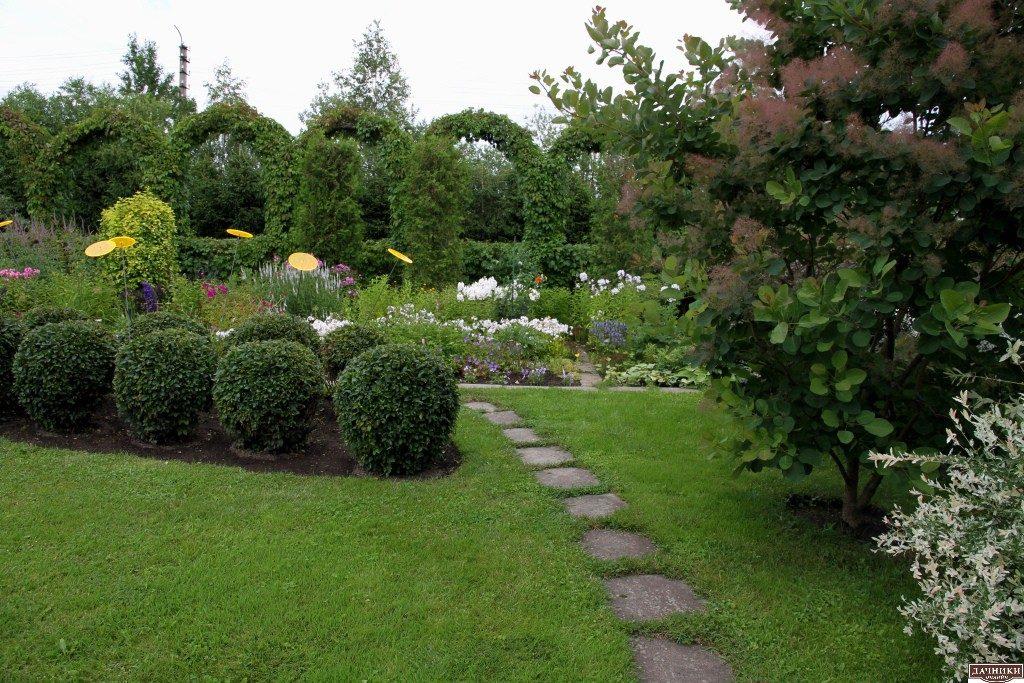 Картинки и фотографии красивого сада, удивительное оформление 10
