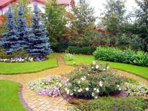 Картинки и фотографии красивого сада, удивительное оформление 16