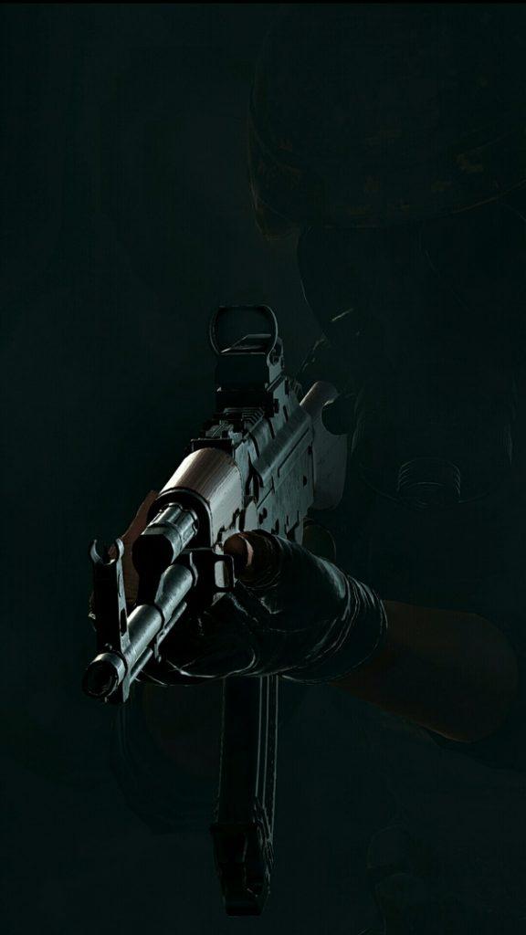 Классные обои на телефон с людьми и оружием - подборка 8