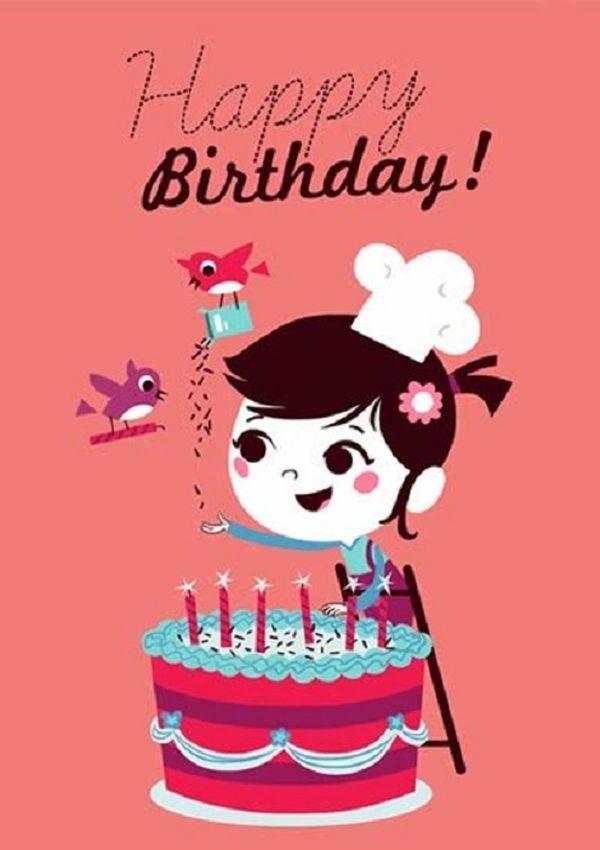 Красивые и прикольные картинки про Happy Birthday - 20 фото 14