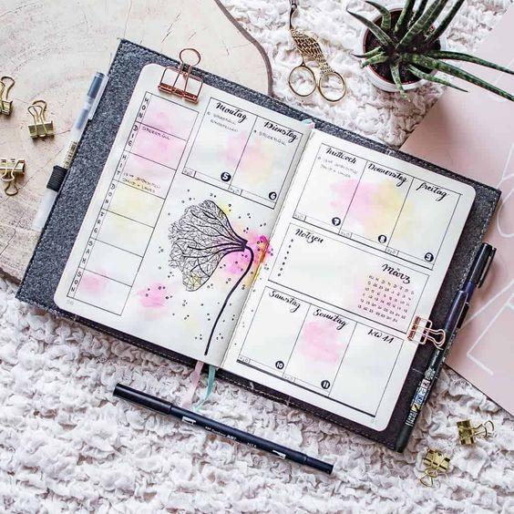 Красивые и прикольные шаблоны для ежедневника - подборка 2