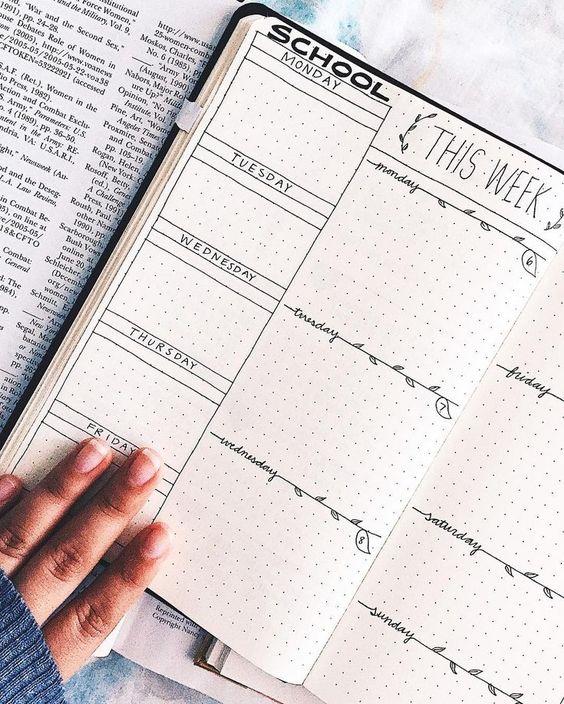 Красивые и прикольные шаблоны для ежедневника - подборка 3