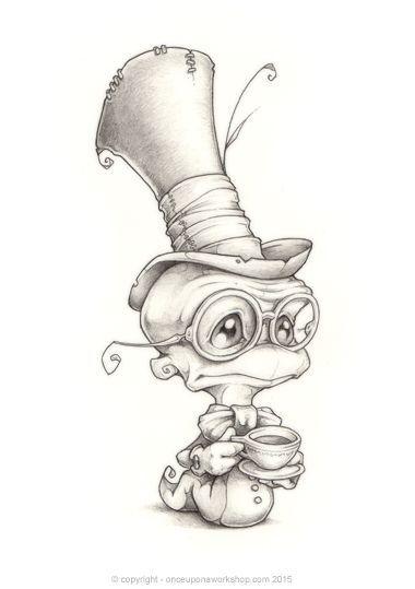 Красивые мультяшные картинки, рисунки для срисовки - подборка 19