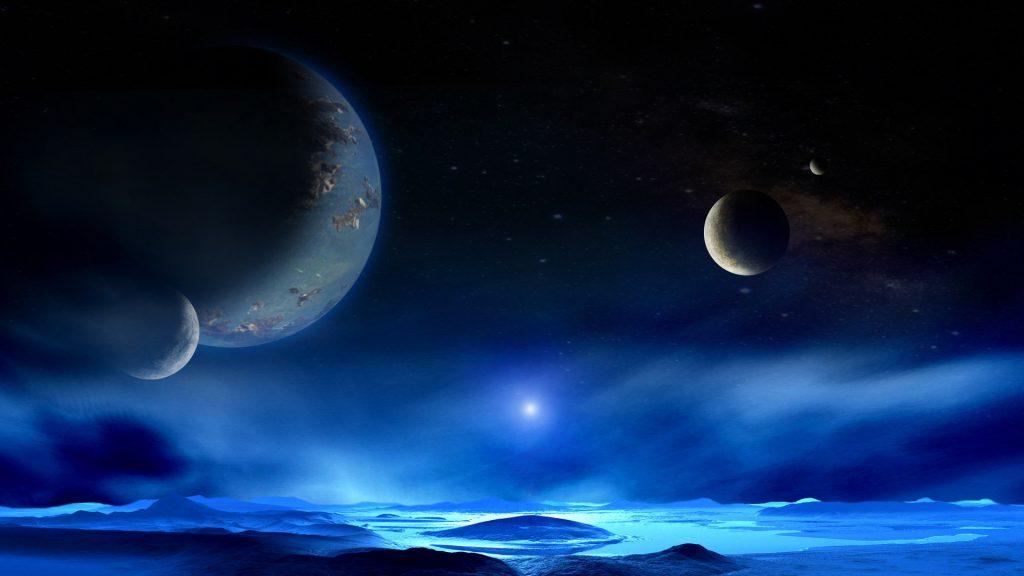 Красивые обои планет, космоса, галактик на рабочий стол - подборка 13
