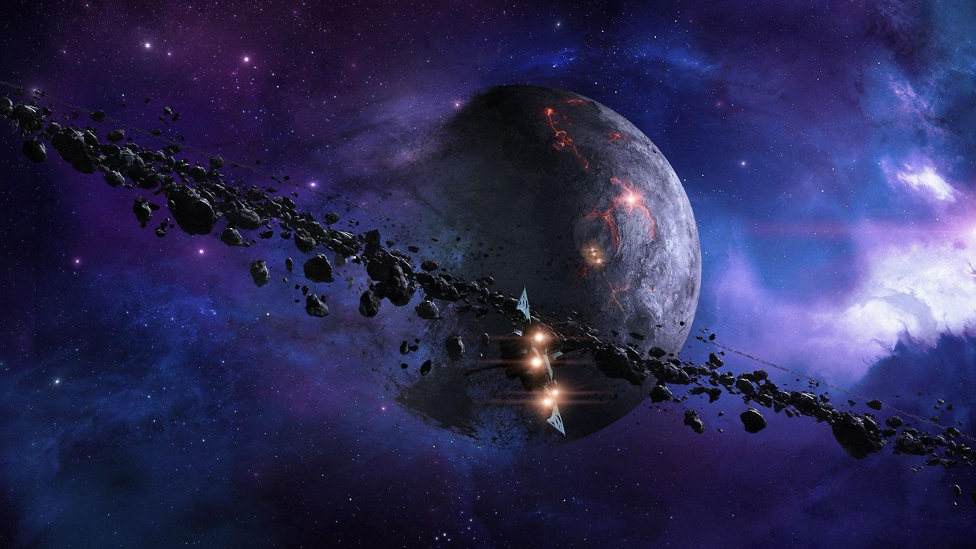 Красивые обои планет, космоса, галактик на рабочий стол - подборка 15