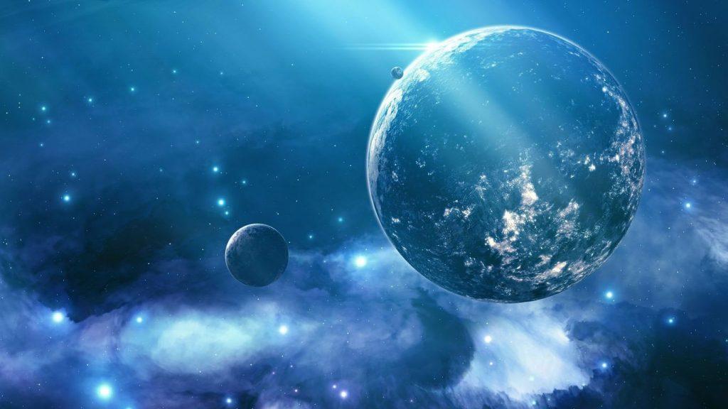 Красивые обои планет, космоса, галактик на рабочий стол - подборка 16