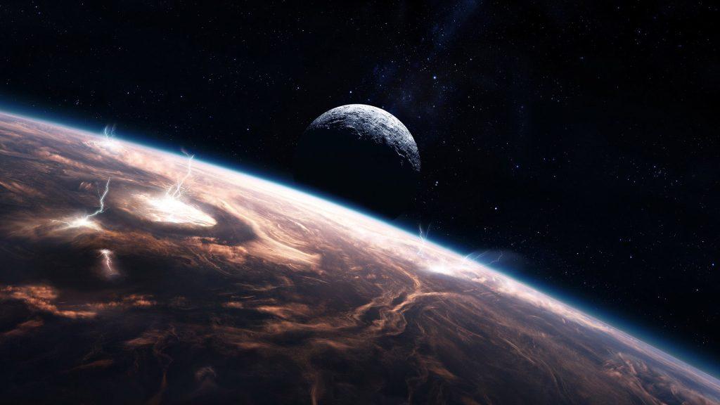Красивые обои планет, космоса, галактик на рабочий стол - подборка 2